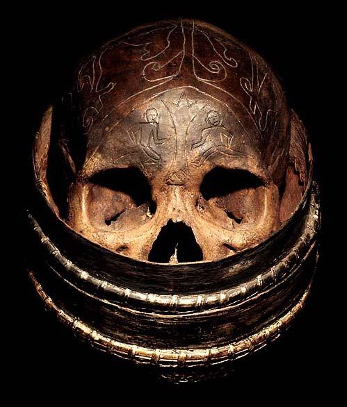 Hand Carved Skulls