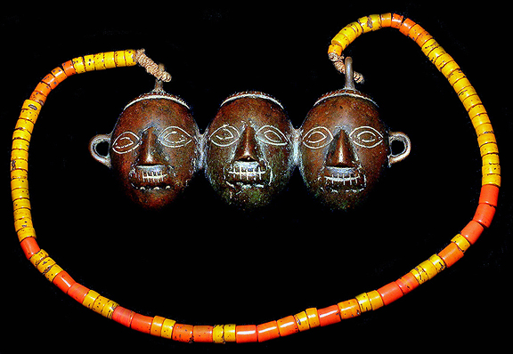 NAGA NECKLACE DAVID HOWARD TRIBAL ART